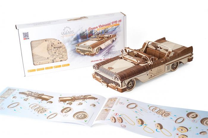 Puzzle 3D Mecanic, Dream Cabriolet, 739 piese [9]