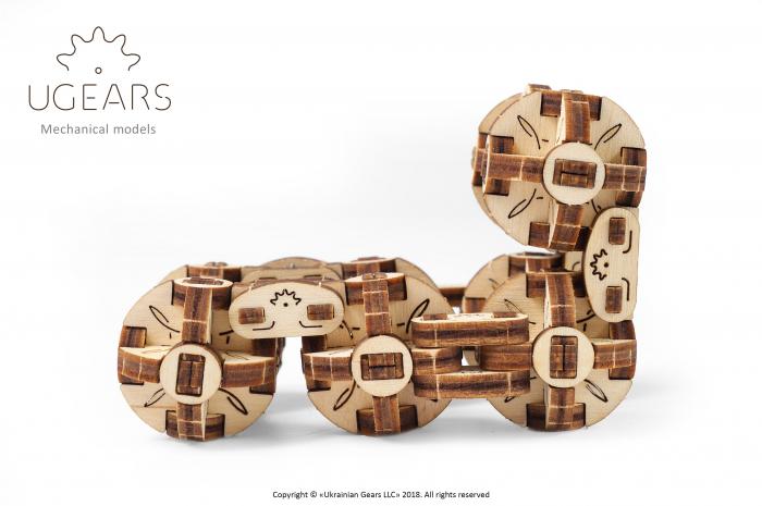 Puzzle 3D Mecanic, Flexi Cubs, 144 piese [5]