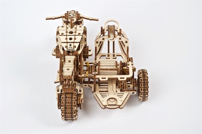 Puzzle 3D Mecanic, Motocicleta Scrambler UGR-10, 380 piese [10]