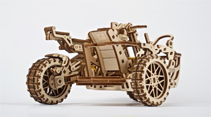 Puzzle 3D Mecanic, Motocicleta Scrambler UGR-10, 380 piese [11]