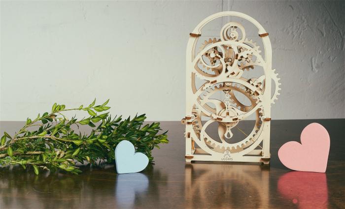 Puzzle 3D Mecanic, Cronograf, 107 piese [5]