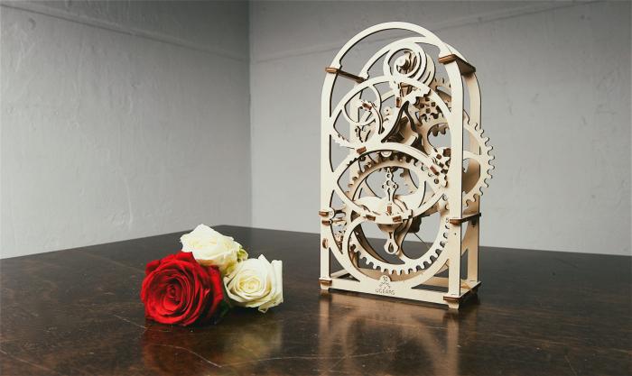 Puzzle 3D Mecanic, Cronograf, 107 piese [6]
