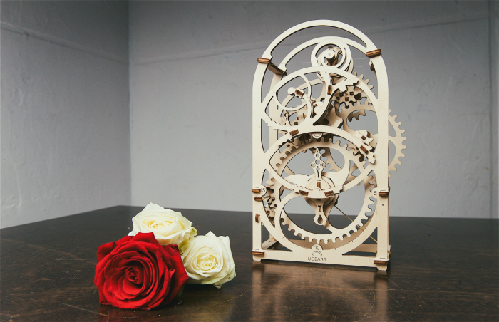 Puzzle 3D Mecanic, Cronograf, 107 piese [8]