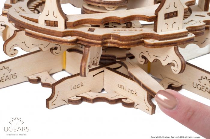 Puzzle 3D Mecanic, Moara de vant, 585 piese [7]