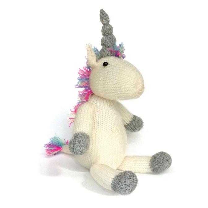 Set creatie jucarii tricotate, Unicorn [0]