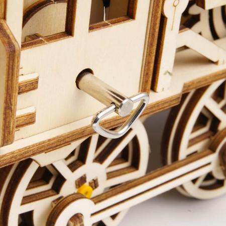 Puzzle 3D Mecanic Locomotiva Lemn [7]