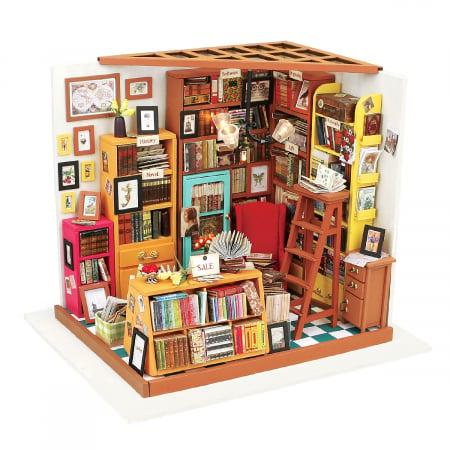 Puzzle 3D, Casuta DIY, Biblioteca lui Sam0