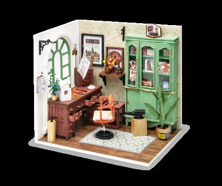 Puzzle 3D, Casuta DIY, Biroul lui Jimmy1