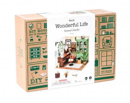 Puzzle 3D, Casuta DIY, Biroul lui Jimmy4