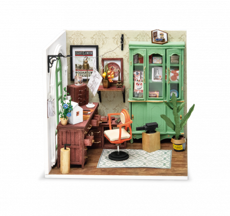 Puzzle 3D, Casuta DIY, Biroul lui Jimmy0