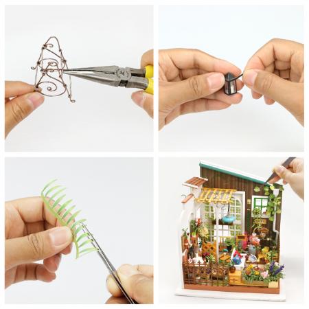 Casuta DIY, puzzle 3D, Gradina lui Miller3