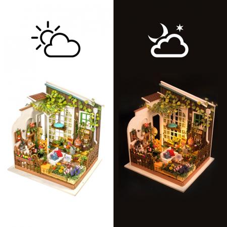Casuta DIY, puzzle 3D, Gradina lui Miller2