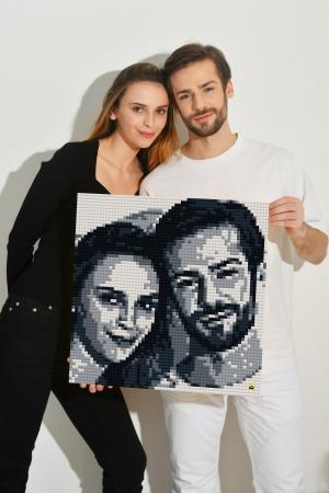 Foto DIY MOZABRICK, Set S, 51x51 cm [0]