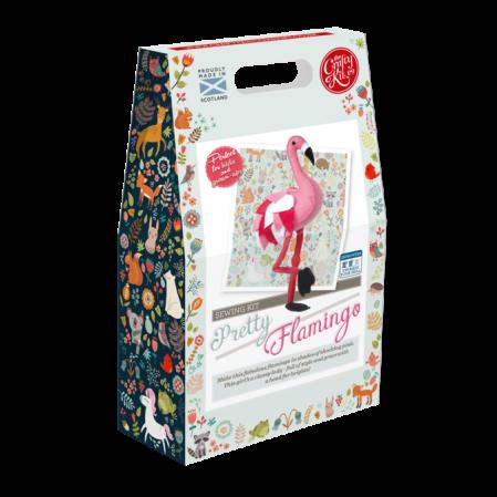 Set creatie jucarii cusute, Flamingo [2]
