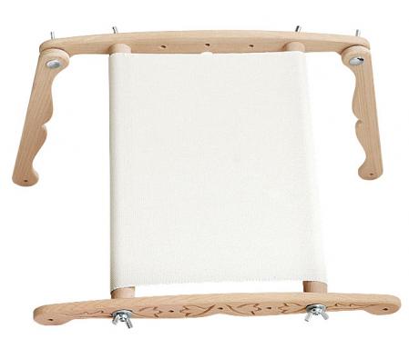 Gherghef reglabil cu suport, 30x30 cm2