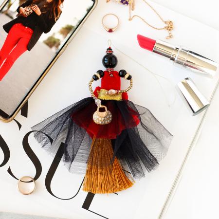 Kit decoratie, Rubin luxuriant, 21 culori, 14 cm1