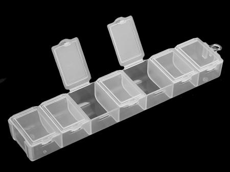 Organizator margele pentru goblenuri cu diamante, 7 compartimente [1]