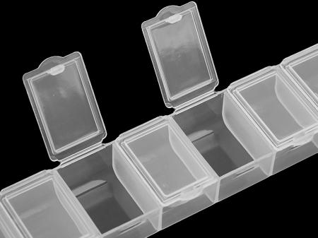 Organizator margele pentru goblenuri cu diamante, 7 compartimente [2]