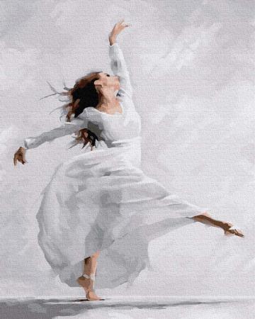 Pictura pe numere, Dans, 40x50 cm [0]