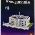 Puzzle 3D Casa Alba, Lemn, 73 piese [2]
