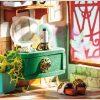 Puzzle 3D, Casuta DIY, Lumea misterioasa - Casuta cu flori5