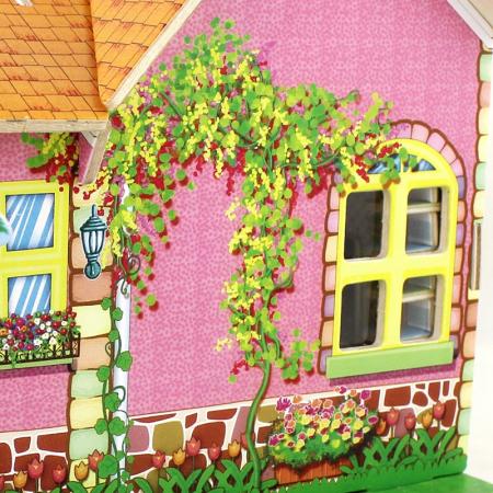 Puzzle 3D, Casuta DIY, Sufragerie, 82 de piese [14]