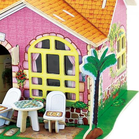 Puzzle 3D, Casuta DIY, Sufragerie, 82 de piese [4]