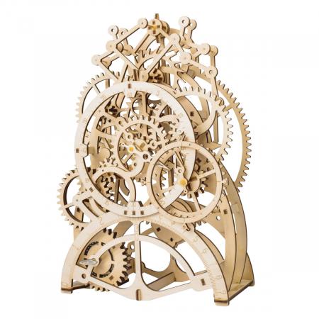 Puzzle 3D Ceas cu pendul, Lemn, 170 piese0