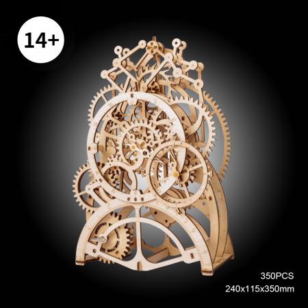 Puzzle 3D Ceas cu pendul, Lemn, 170 piese [5]