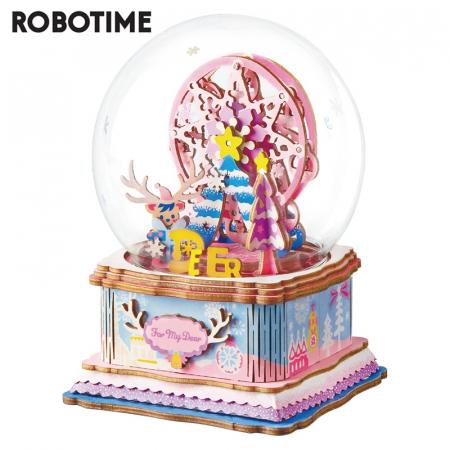 Puzzle 3D Cutie Muzicala, Iubitei mele, Lemn, 93 de piese0