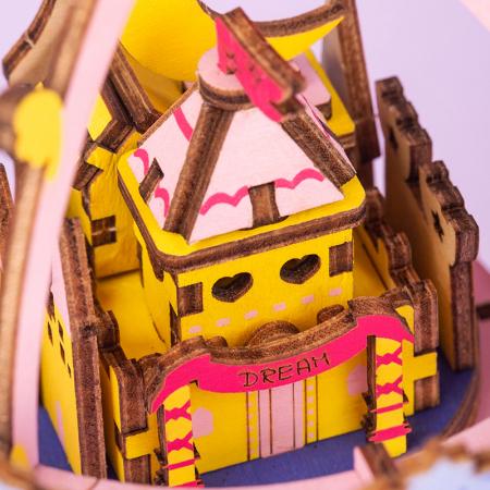 Puzzle 3D Cutie Muzicala, Oras zburator, Lemn, 192  piese3