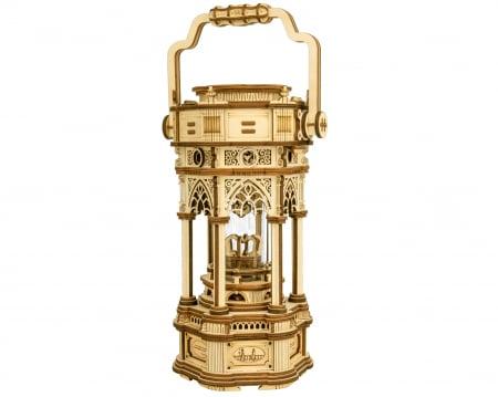 Puzzle 3D, cutiuta muzicala, Lanterna din era Victoriana [0]