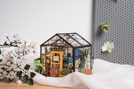 Puzzle 3D, Casuta DIY, Sera lui Cathy8