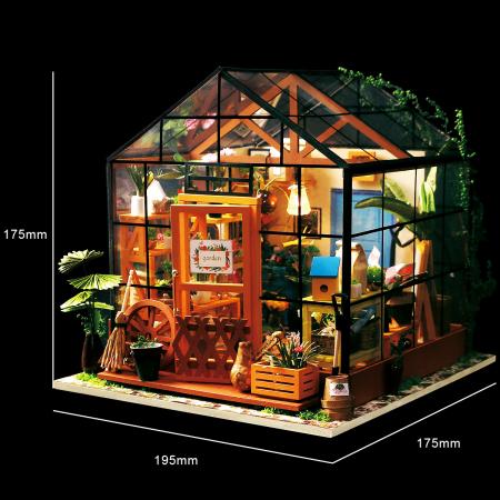 Puzzle 3D, Casuta DIY, Sera lui Cathy1