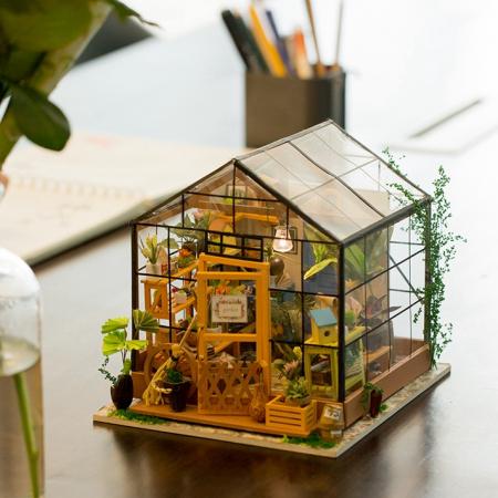 Puzzle 3D, Casuta DIY, Sera lui Cathy7