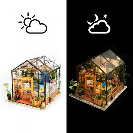 Puzzle 3D, Casuta DIY, Sera lui Cathy4