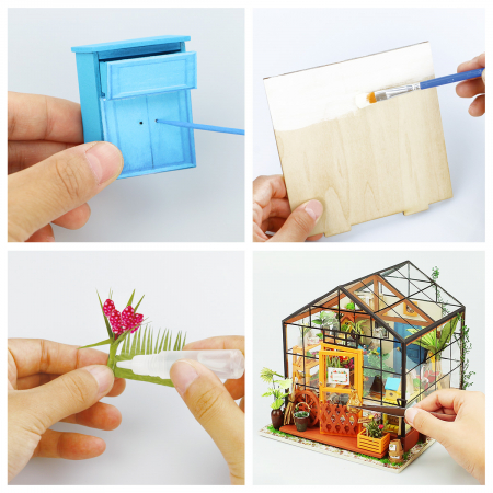 Puzzle 3D, Casuta DIY, Sera lui Cathy5