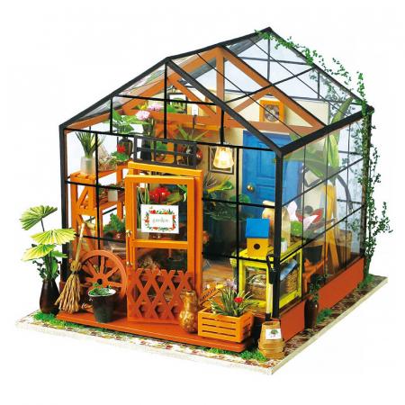 Puzzle 3D, Casuta DIY, Sera lui Cathy0