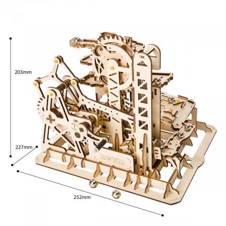 Puzzle 3D Marble Climber, Lemn, 227 piese2