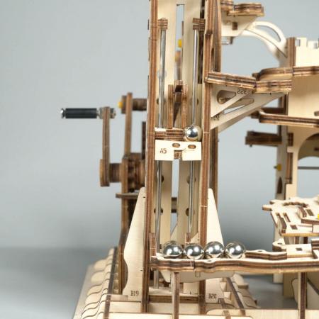 Puzzle 3D Marble Climber, Lemn, 227 piese3