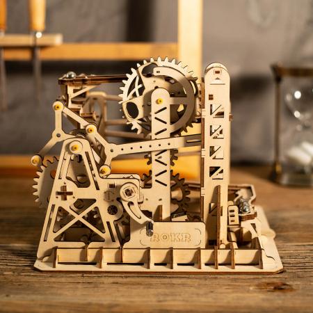 Puzzle 3D Marble Explorer, Lemn, 219 piese1