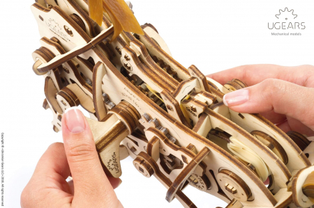 Puzzle 3D Mecanic, Cal Bionic, 410 piese [3]