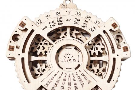 Puzzle 3D Mecanic, Calendar mecanic, 21 piese [0]
