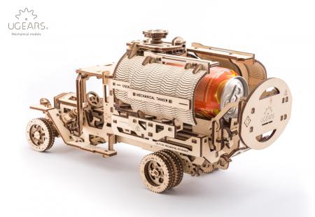 Puzzle 3D Mecanic, Camion UGM-11 Cisterna, 594 piese [3]