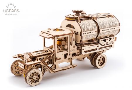 Puzzle 3D Mecanic, Camion UGM-11 Cisterna, 594 piese [0]