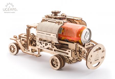 Puzzle 3D Mecanic, Camion UGM-11 Cisterna, 594 piese [4]