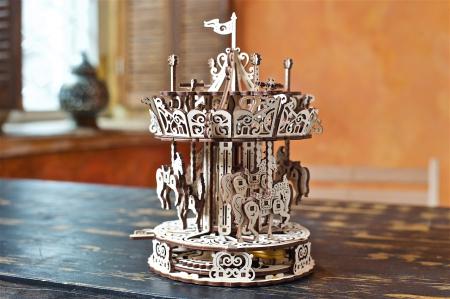 Puzzle 3D Mecanic, Carusel, 305 piese [2]