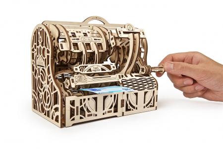 Puzzle 3D Mecanic, Casa de marcat, 405 piese [11]