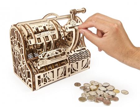 Puzzle 3D Mecanic, Casa de marcat, 405 piese [4]