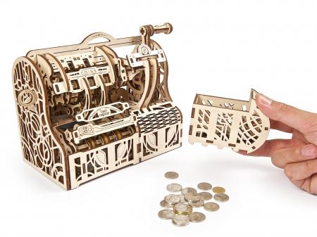 Puzzle 3D Mecanic, Casa de marcat, 405 piese [7]